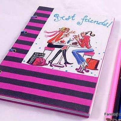 zápisník Najlepšie priateľky