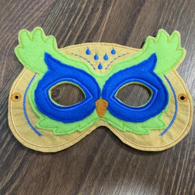 Sova detská karnevalová maska
