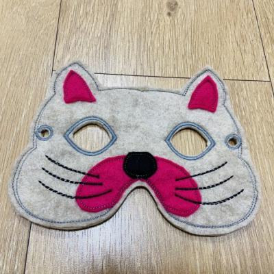Mačička detská karnevalová maska