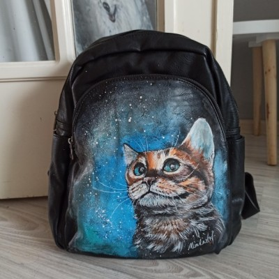 Maľovaný batoh