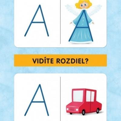 abeceda TROCHA INAK - edukačné kartičky