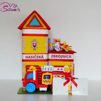 Plienková torta HASIČSKÁ ZBROJNICA