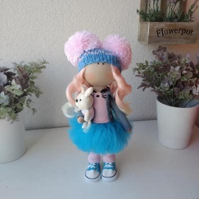handmade bábika