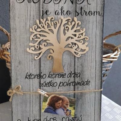 Rodina je ako strom