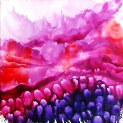 Enkaustika- maľovanie horúcim voskom