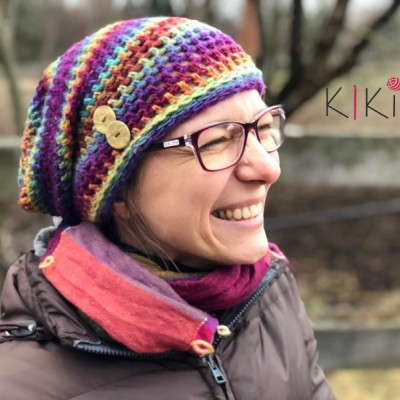 Jarná čiapka Homelesska - Dúha, vhodná aj pre veľkáčky Onkoláčičky 😍