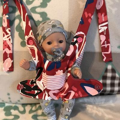 Nosič pre bábiku ❤️
