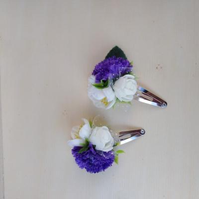 Kvetinové sponky 9