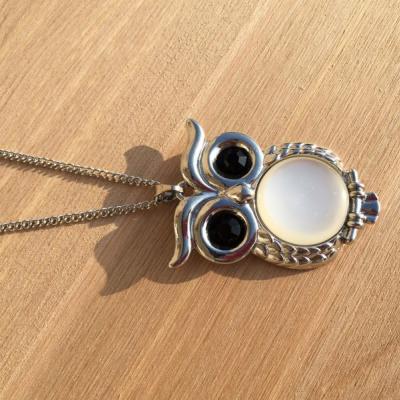 náhrdelník so sovou