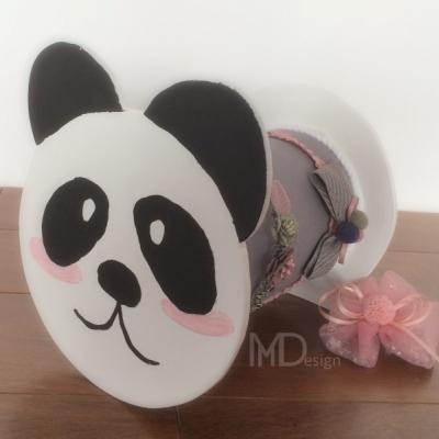 Stojan na čelenky panda