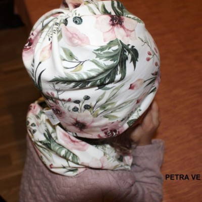 ČIAPKA S OTVOROM na COP, detská+ NÁKRČNÍK