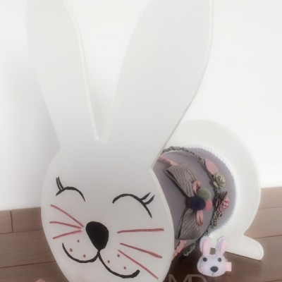 Stojan na čelenky zajačik