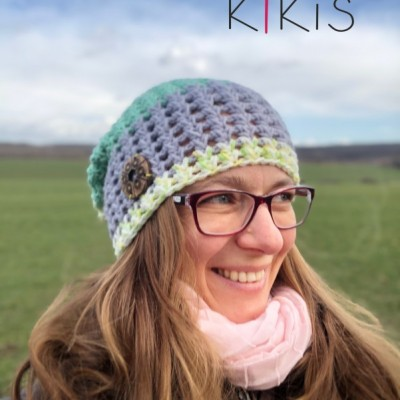 Jarná čiapka Homlesska - Nádej, vhodná aj pre veľkáčky Onkoláčičky 😍