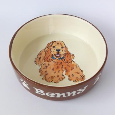 Miska pre psa s menom - Anglický kokršpaniel