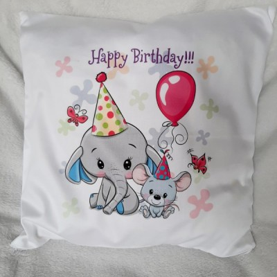 Vankúšik Happy Birthday