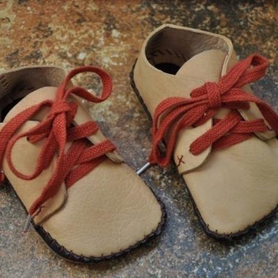 Barefoot členková topánka na mieru do velkost cca 22