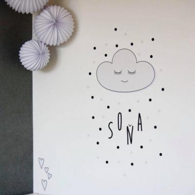 Nálepky na stenu