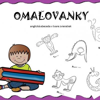 OMAĽOVANKY - animal ABC