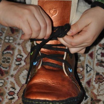 Zateplenie mojej členkovej topánky do velkosti cca č.32