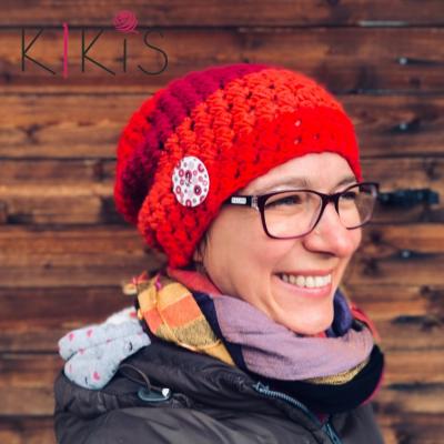Jarná čiapka Homlesska - Ako z ruže kvet, vhodná aj pre veľkáčky Onkoláčičky 😍