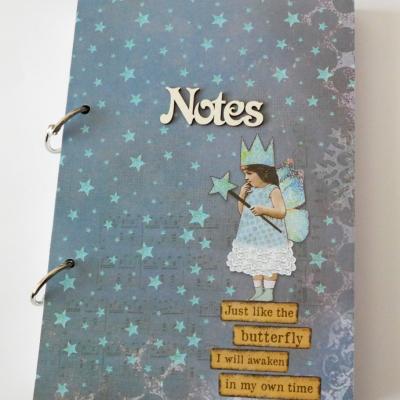 zápisník vo vintage štýle