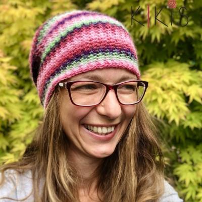 Obojstranná čiapka Perla, vhodná aj pre veľkáčky Onkoláčičky 😍