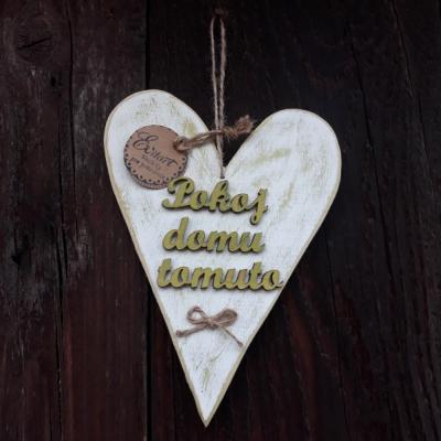 Srdce - pokoj domu tomuto