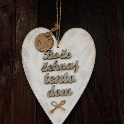 Srdce- Bože žehnaj tento dom