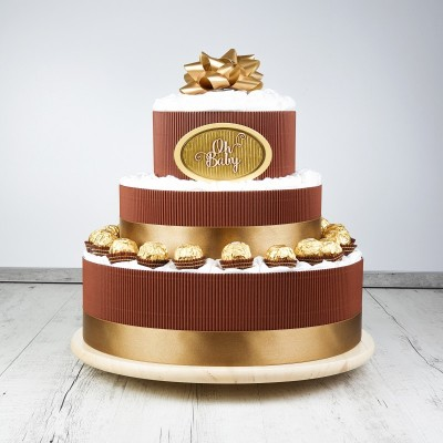 Plienková torta čokoládová
