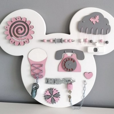 Activity board Mickey/Minnie