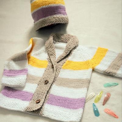 Pletená súprava pre dievčatko