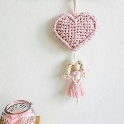 Macramé 3D srdce