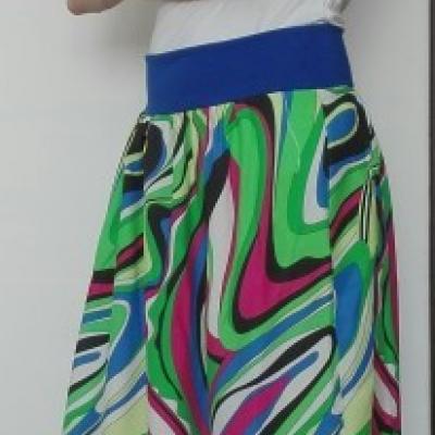 Letná maxi sukňa