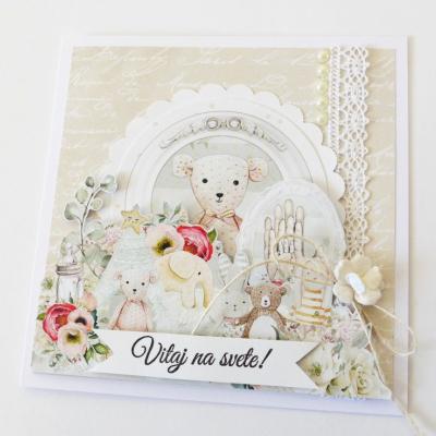 pohľadnica k narodeniu dieťatka