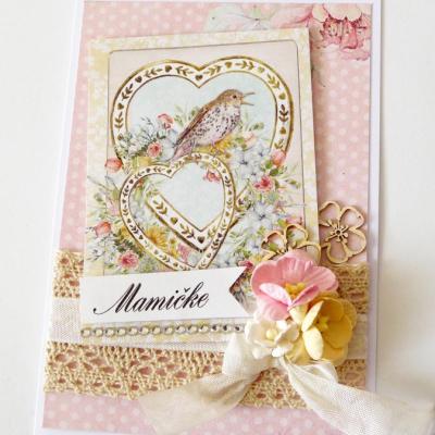 pohľadnica pre mamu