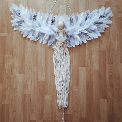 Anjel TUPSU čierno-biely