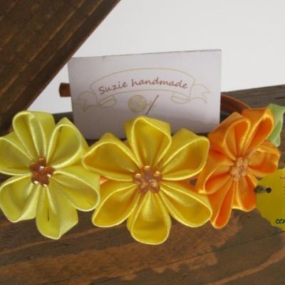 Čelenka - Žltý, oranžový kvet