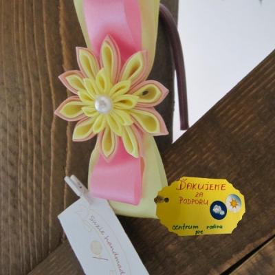 Čelenka - Žltý kvet