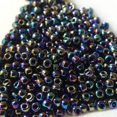 Korálky rokajl Toho round metallic rainbow iris 11/0