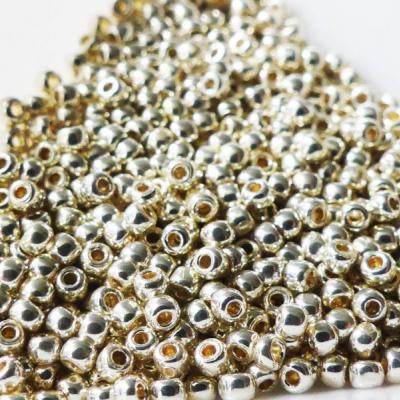 Korálky rokajl Toho round galvanized aluminium 11/0