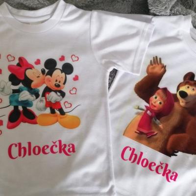 Detské tričko na želanie