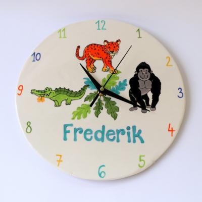Detské nástenné hodiny