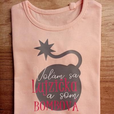 Bombové tričko