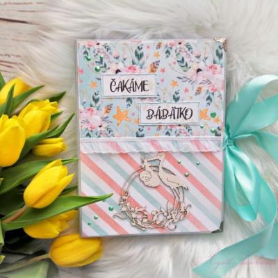 Tehotenský denníček - šitá väzba