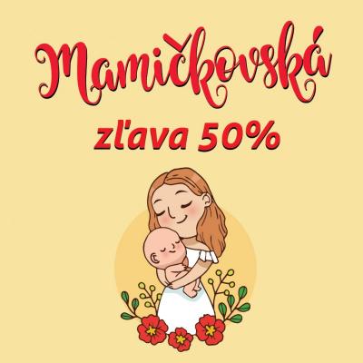 Mamičkovská zľava 50%