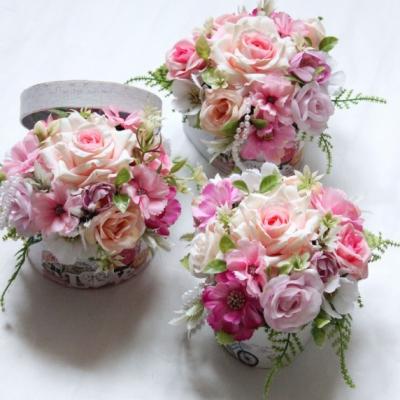 Kvetinový box/poďakovanie pre pani učiteľku/