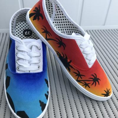 Ombré topánočky