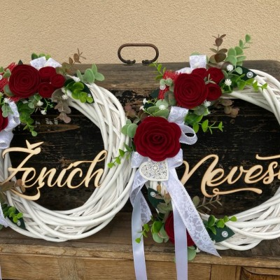 Svadobné venčeky set