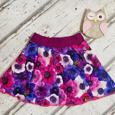 Točiaca suknička fialové kvety