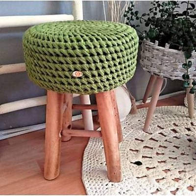 Taburetka AMAZONIA green